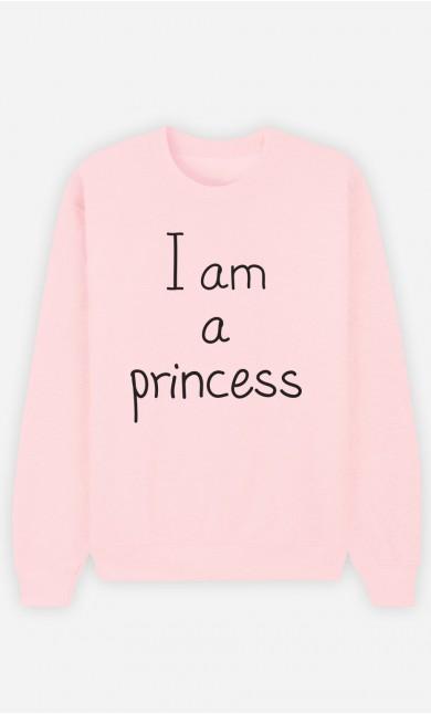 Pink Sweatshirt I'm a Princess