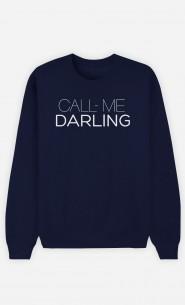 Sweatshirt Call Me Darling