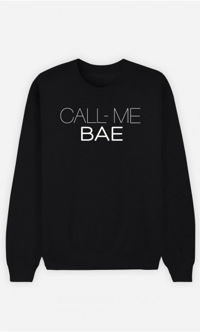 Sweatshirt Call Me Bae