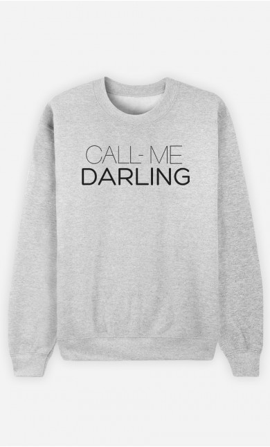 Sweatshirt Call Me Darling
