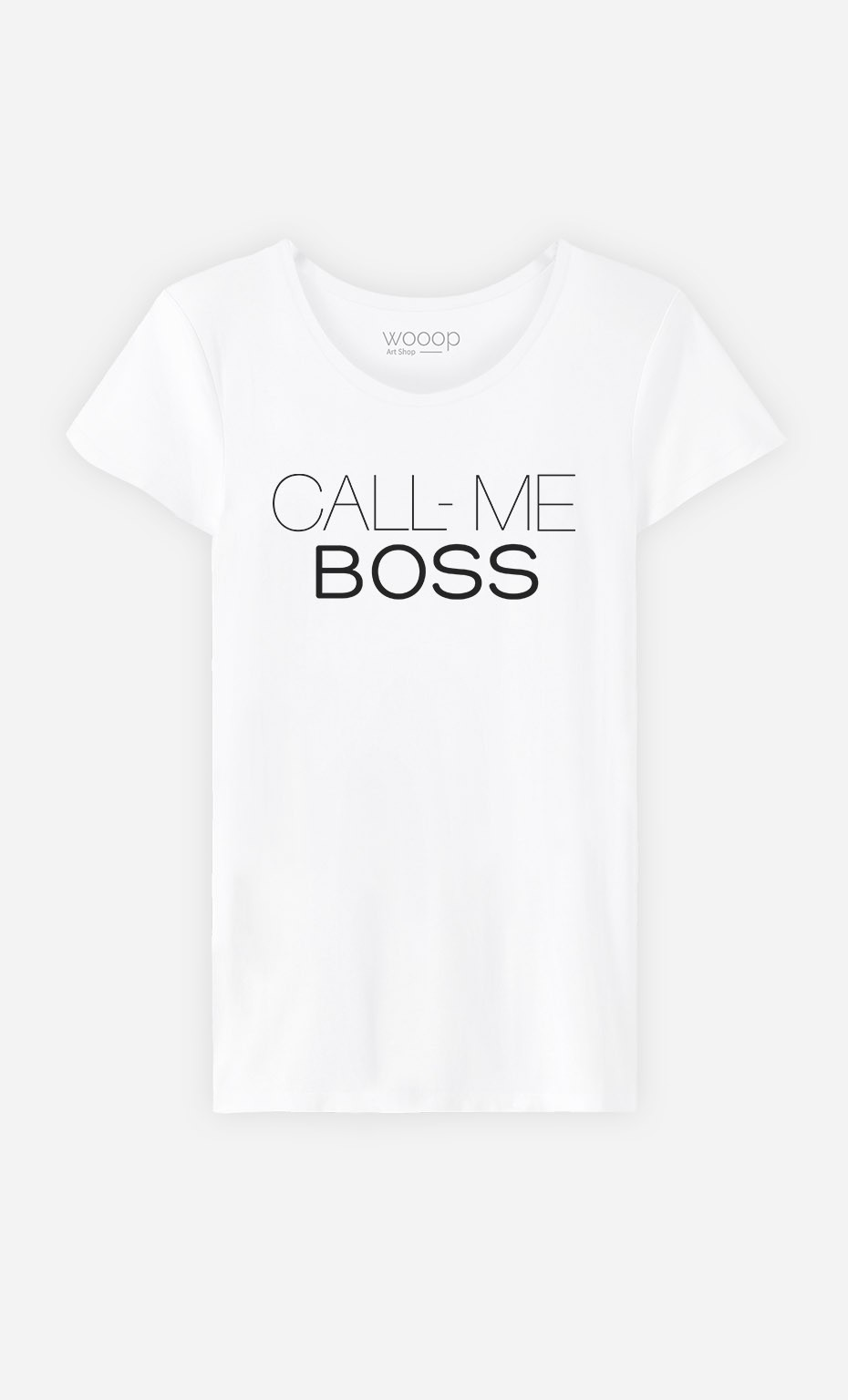 T-Shirt Call Me Boss