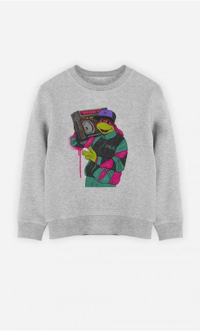 Sweatshirt Vintage Turtle