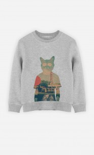 Sweatshirt Cool Cat