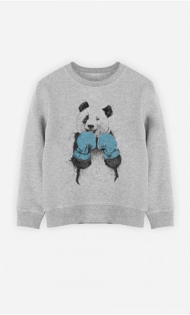 Sweatshirt The Winner Panda
