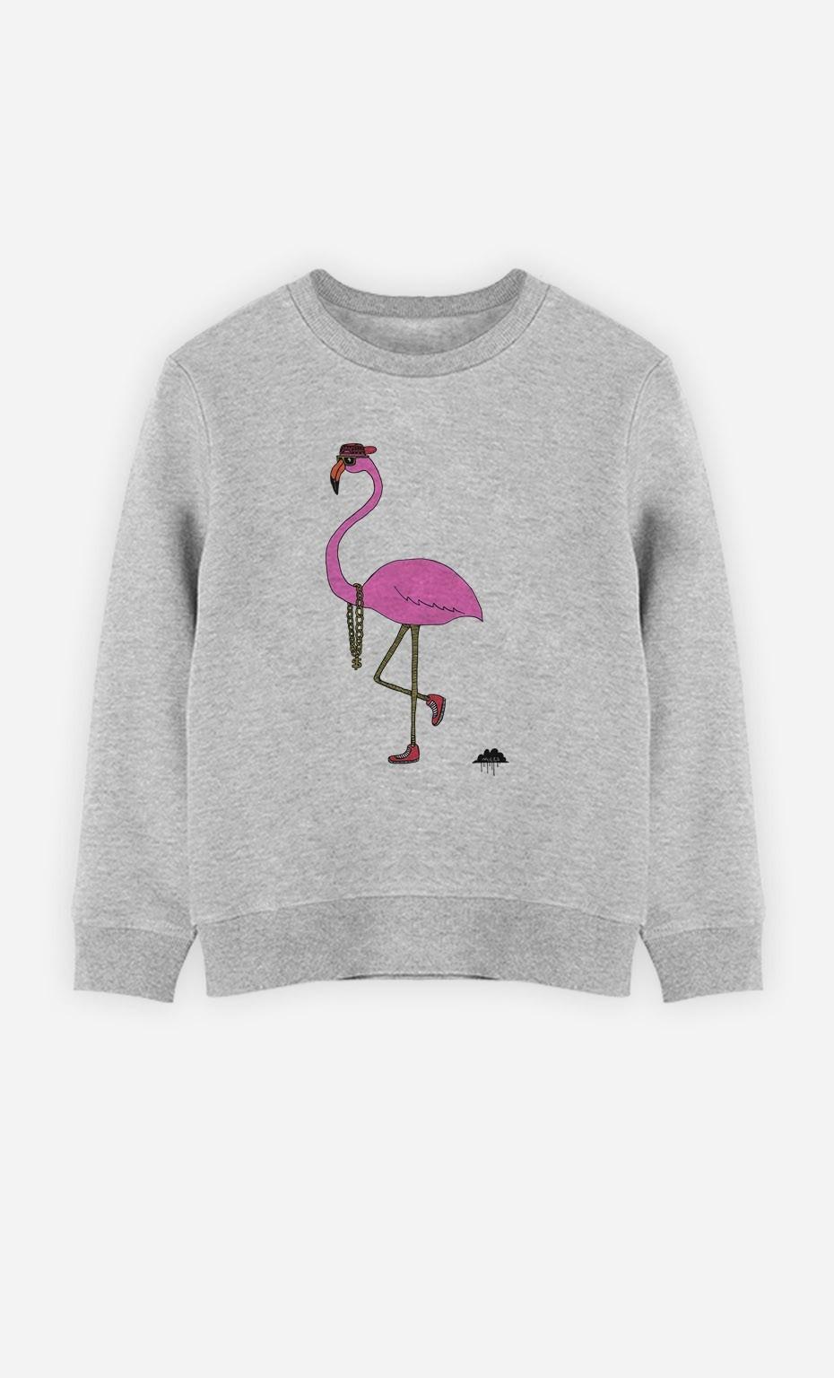 Sweatshirt Frederick The Flamingo