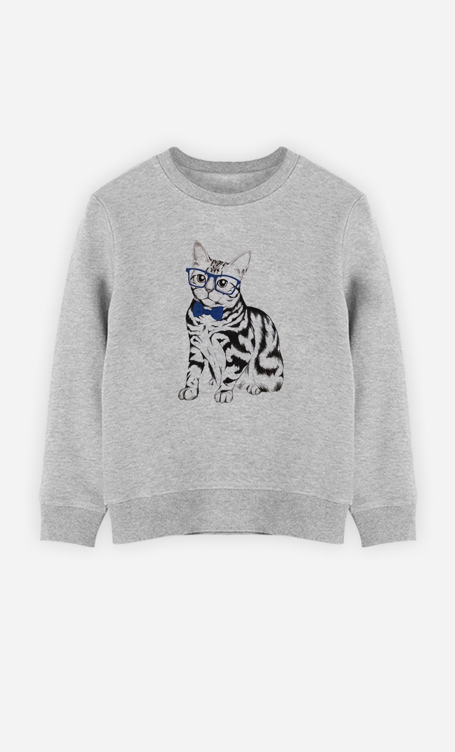 Sweatshirt Hipster Cat