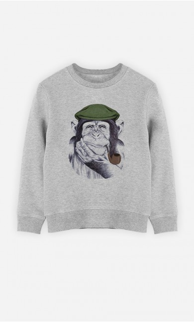 Sweatshirt Wise Mr Chimp