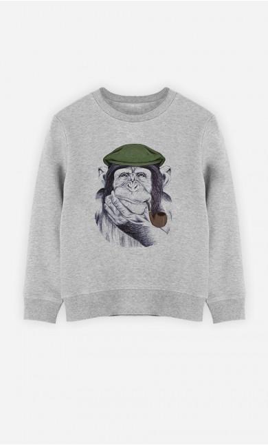 Sweatshirt Wise Mr Chimp