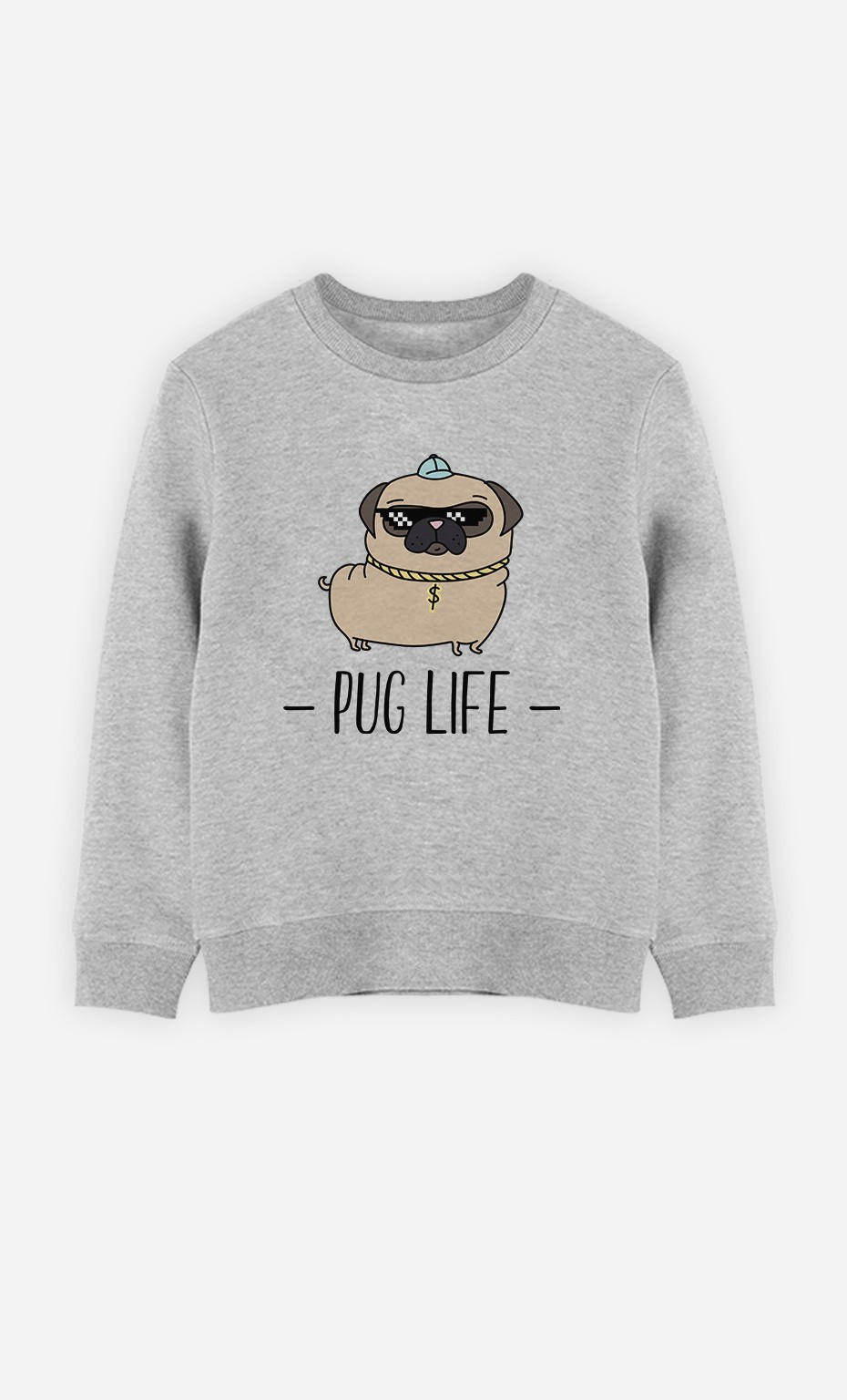 Sweatshirt Pug Life