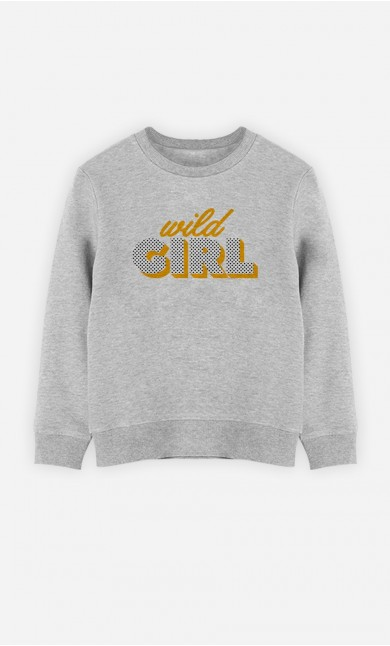 Sweatshirt Wild Girl