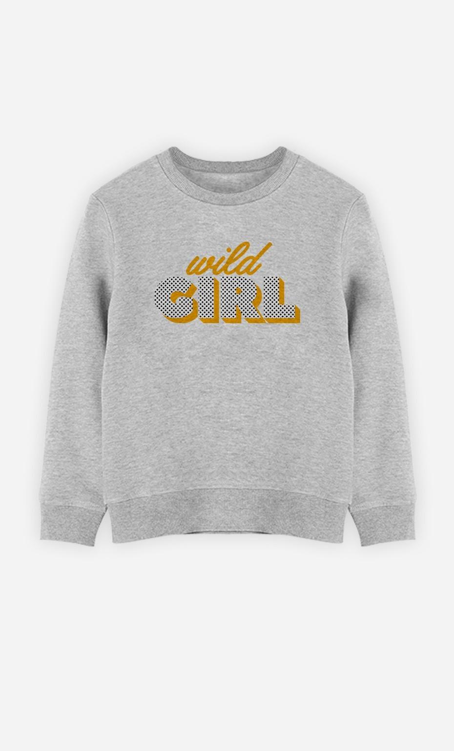 Sweatshirt Wild Girl