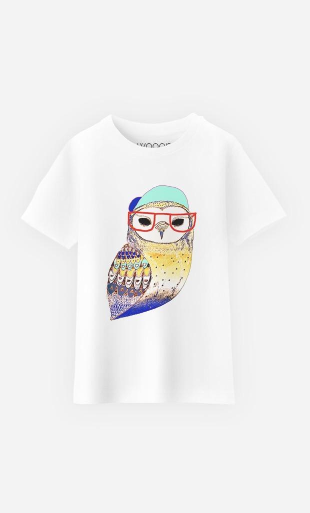 T-Shirt Hipster Owl