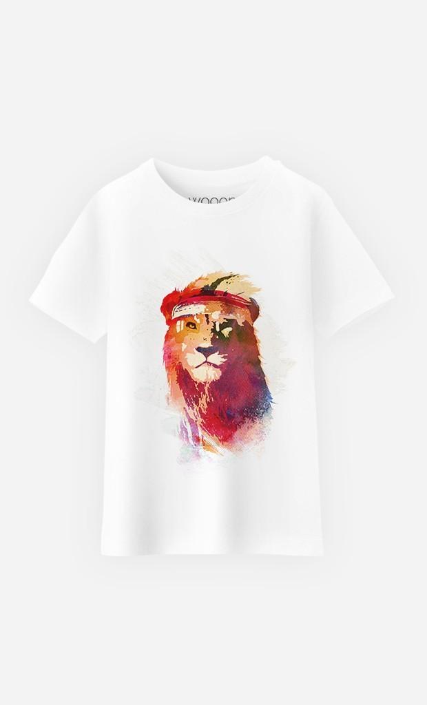 T-Shirt Gym Lion
