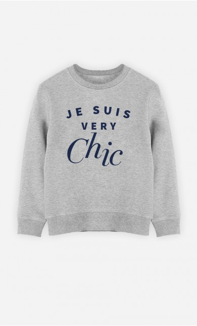 Sweatshirt Je Suis Very Chic