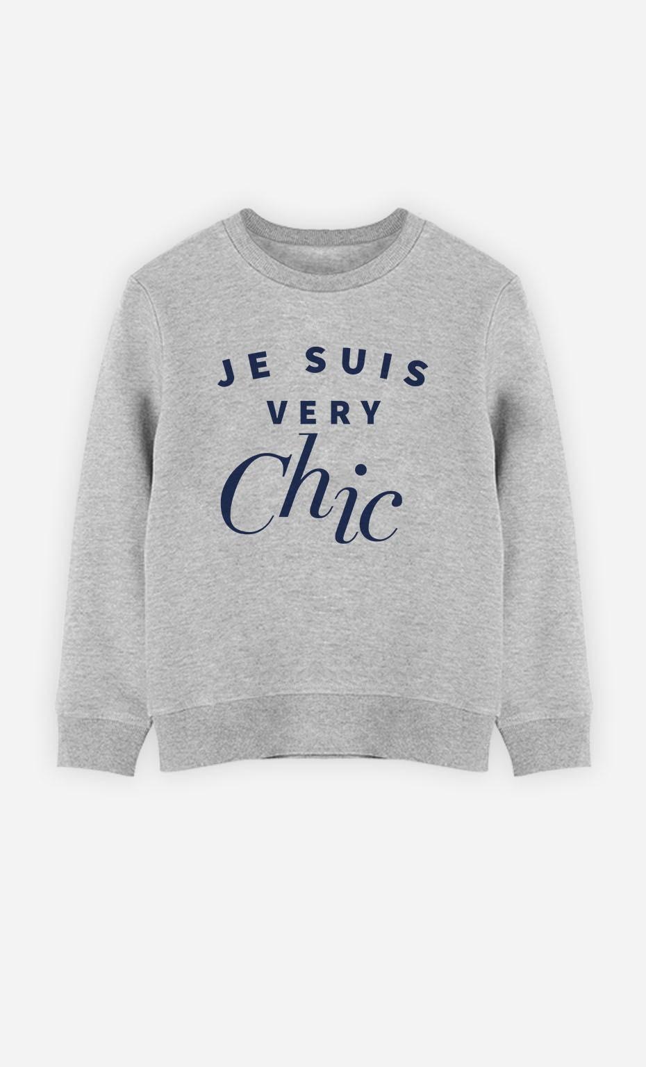 Sweatshirt Je Suis Very Chic