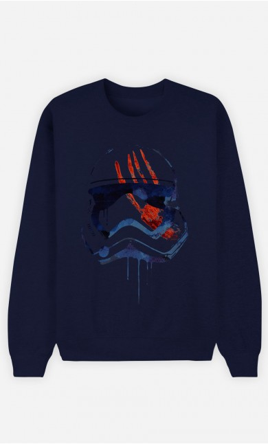 Blue Sweatshirt Bloody Stormtrooper