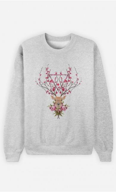 Sweatshirt Spring Deer
