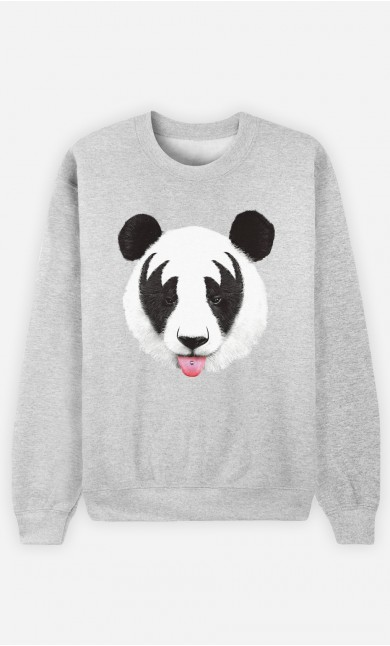 Sweatshirt Panda Kiss