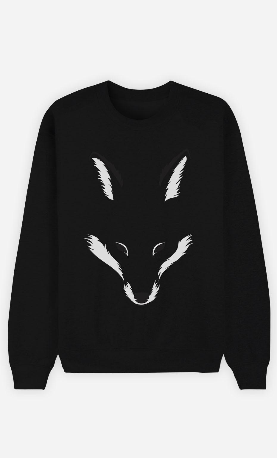 Black Sweatshirt Foxy Shape
