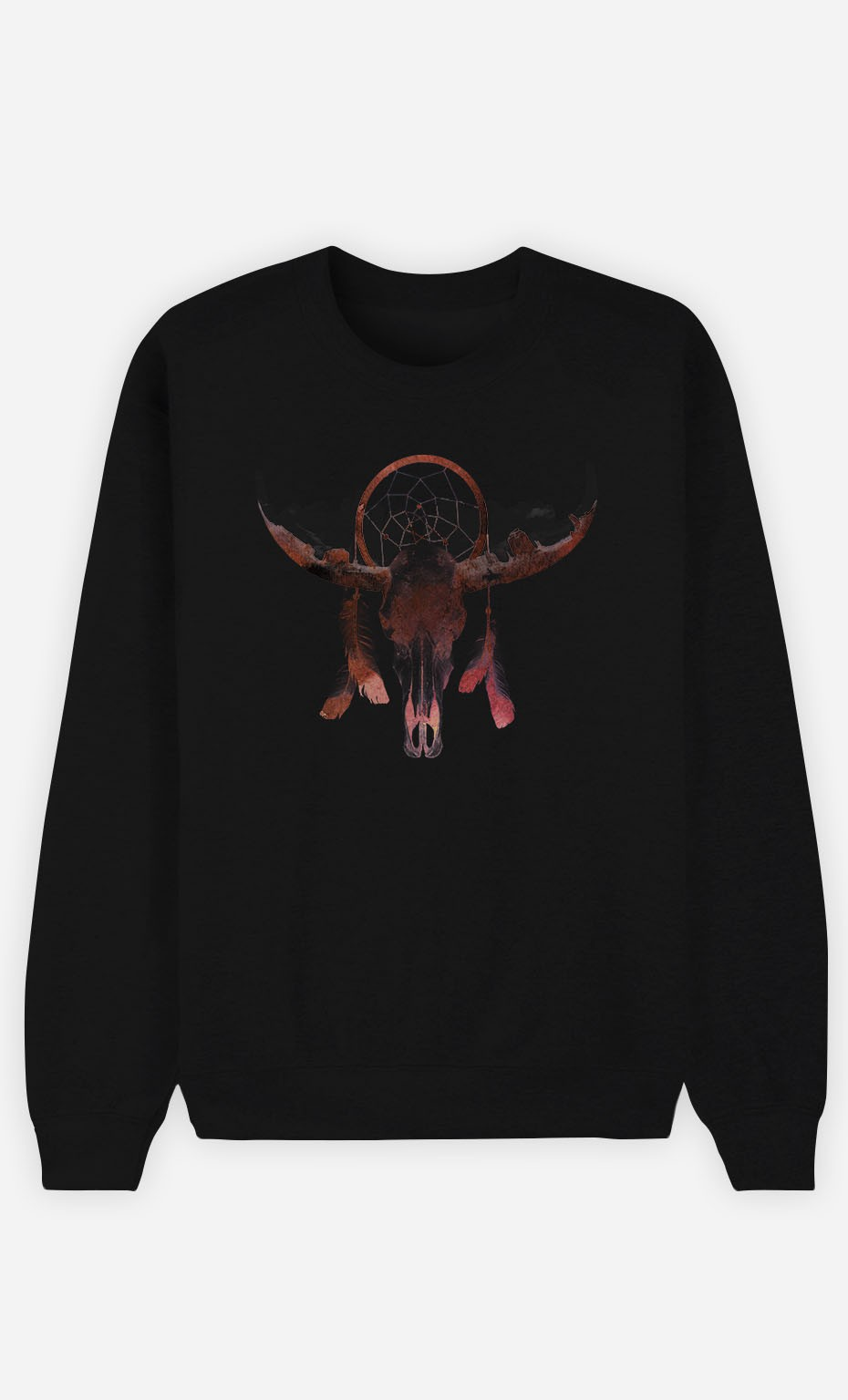 Black Sweatshirt Deadly Desert