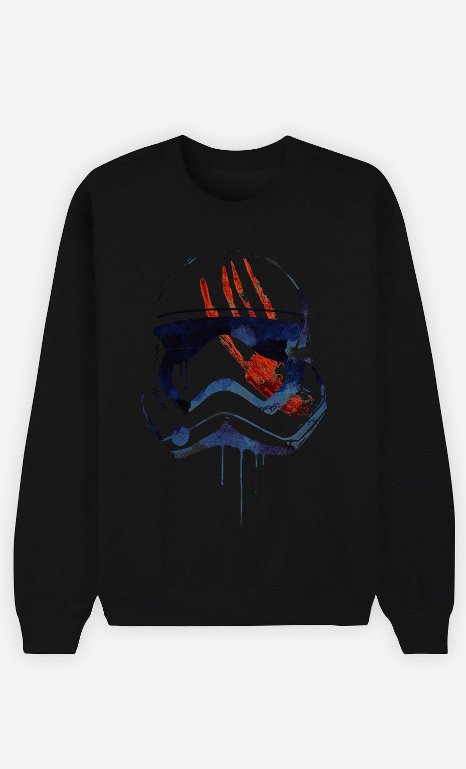 Black Sweatshirt Bloody Stormtrooper