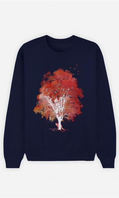 Blue Sweatshirt Hide And Seek