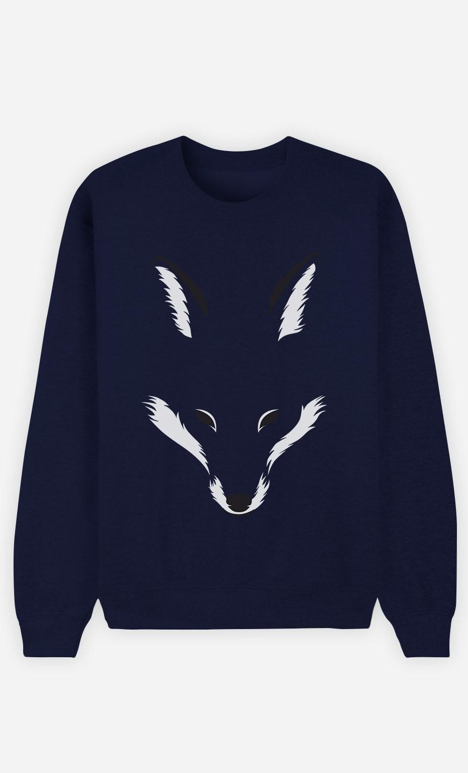 Blue Sweatshirt Foxy Shape