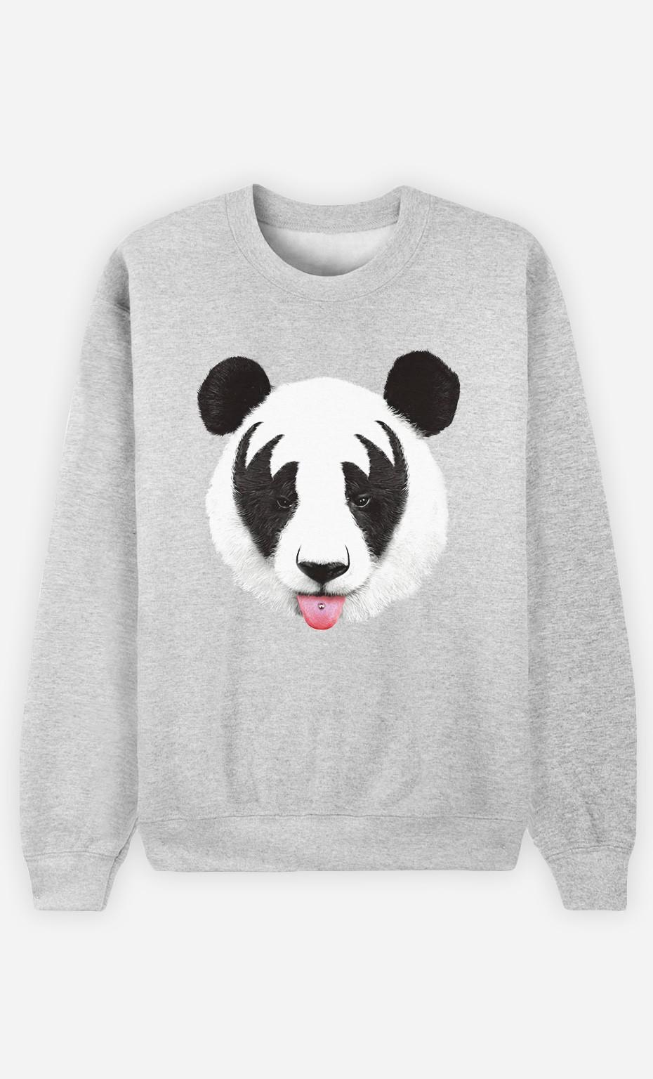 Sweatshirt Panda Kiss
