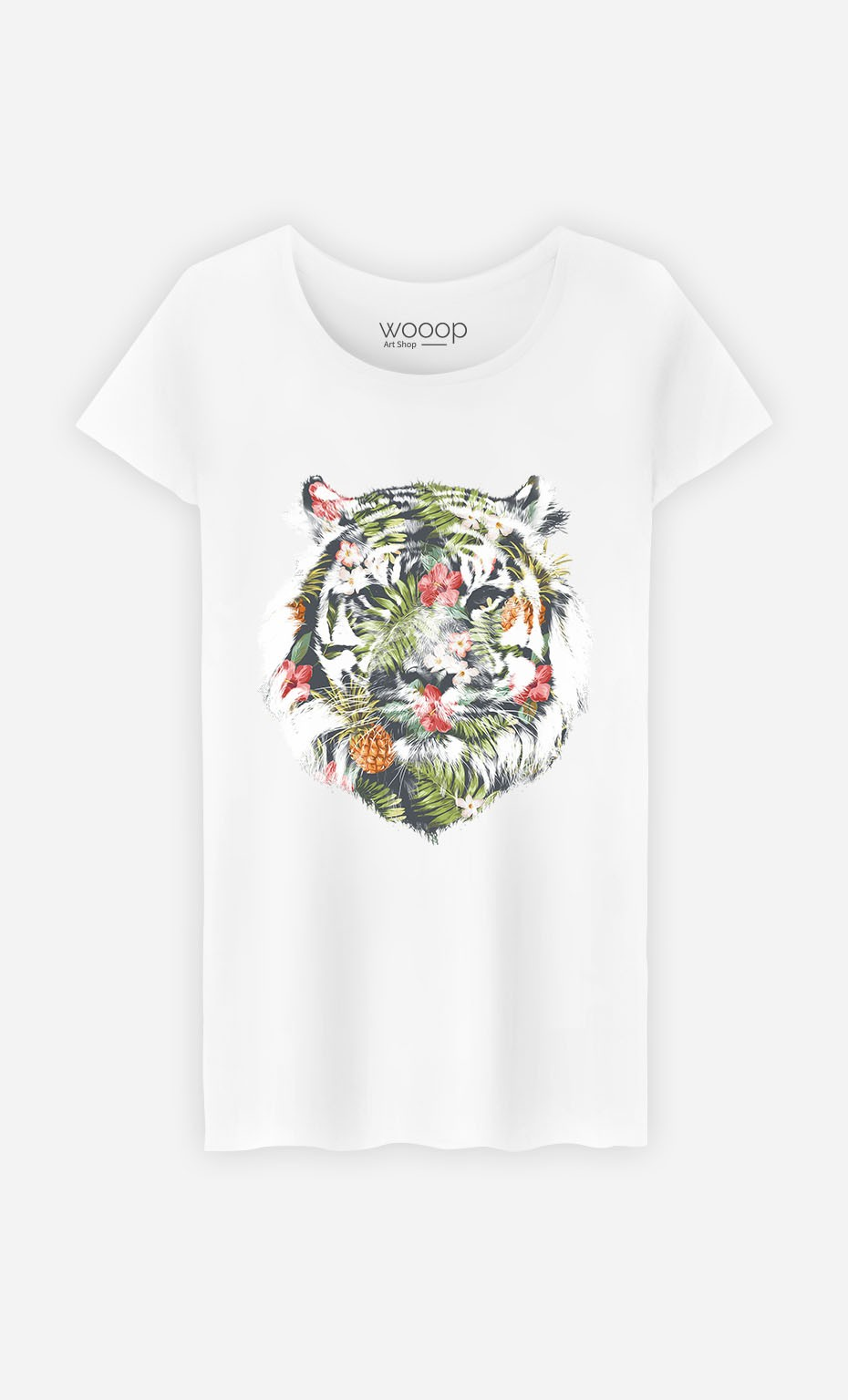 T-Shirt Tropical Tiger