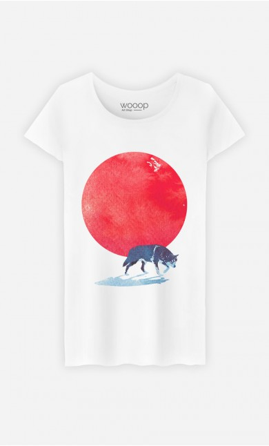 T-Shirt Red Moon
