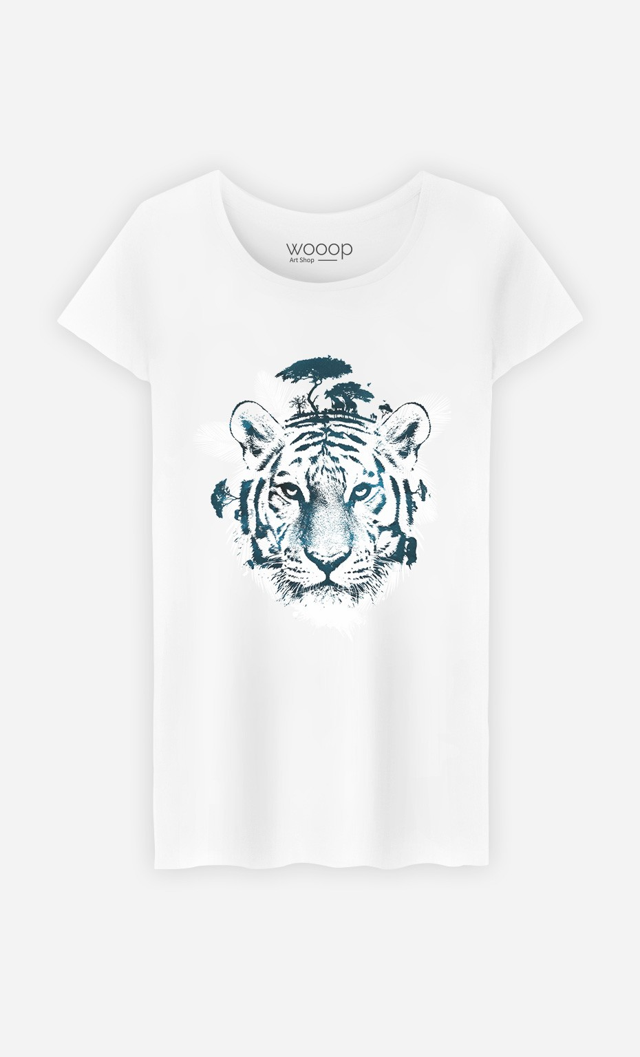 T-Shirt Frozen Tiger