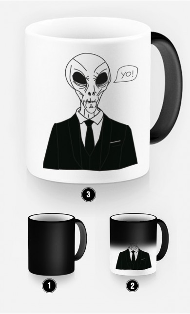 Magic Mug Alien