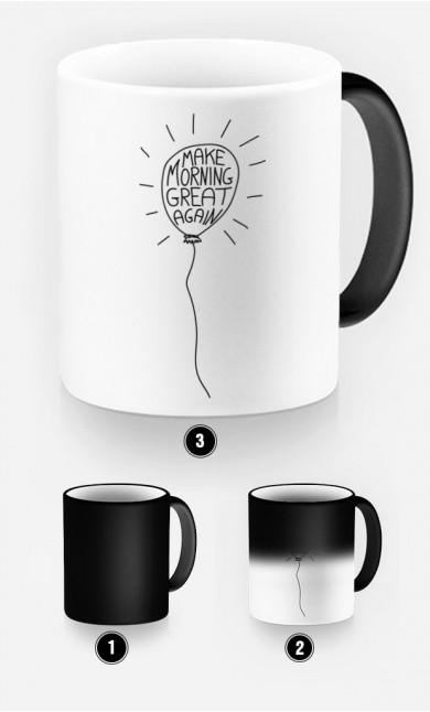 Magic Mug Make morning great again