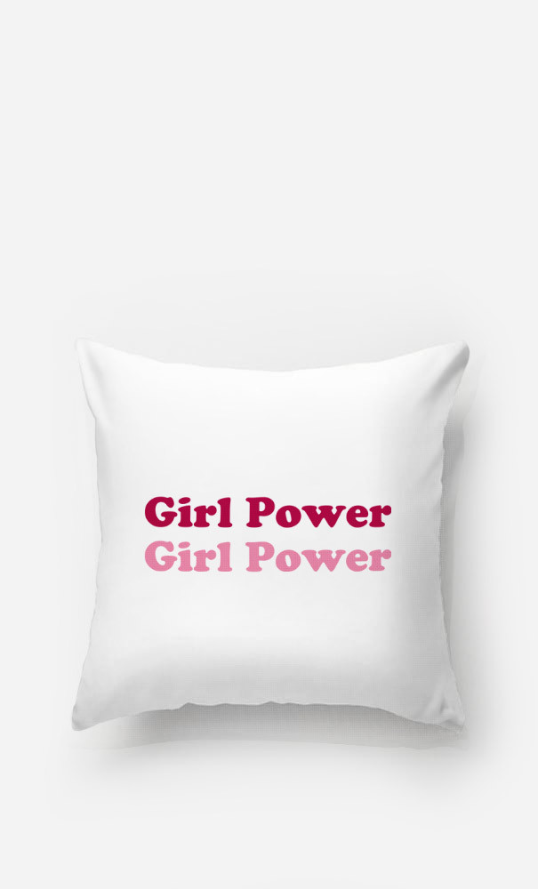 Cushion Girl Power