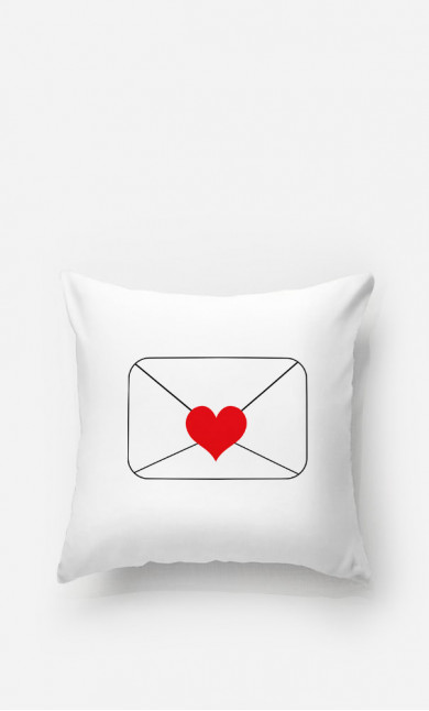 Cushion Love Letter