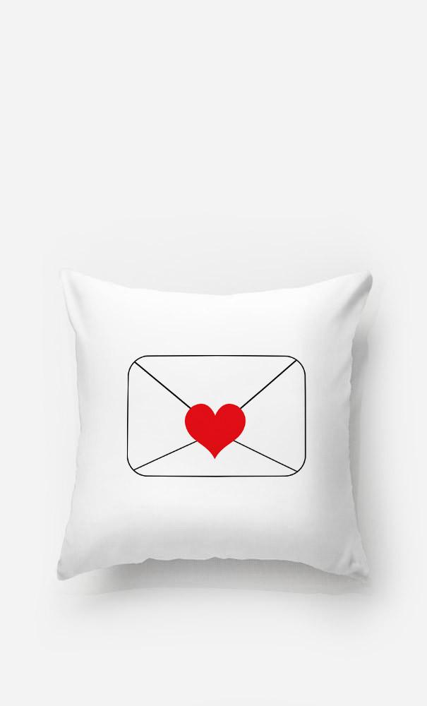 Cushion Love Letter