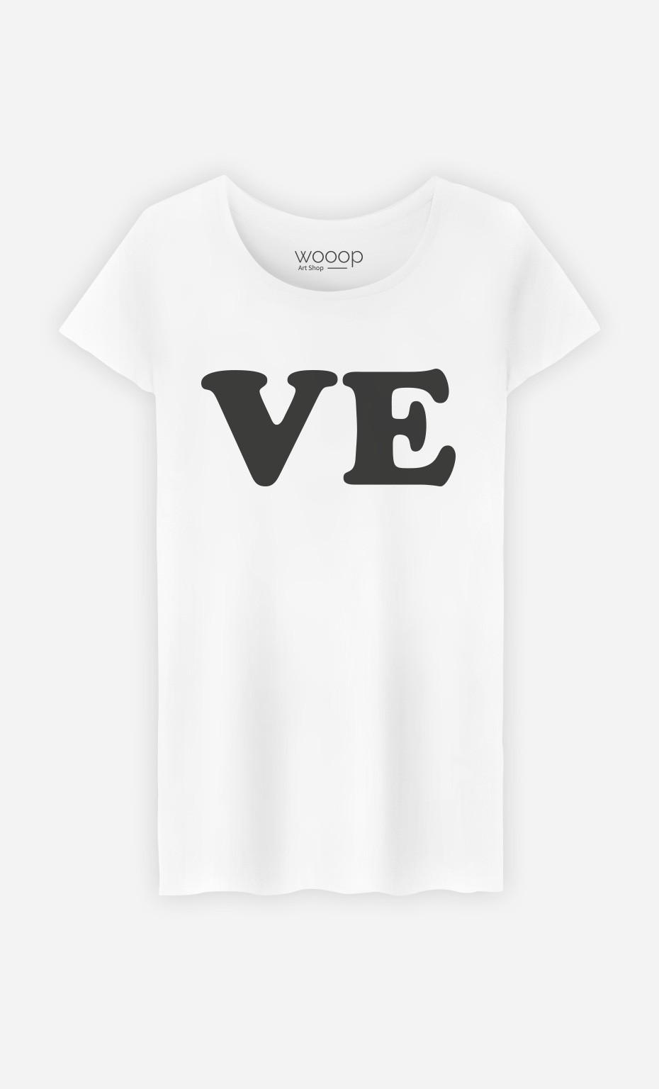 T-Shirt Love Ve