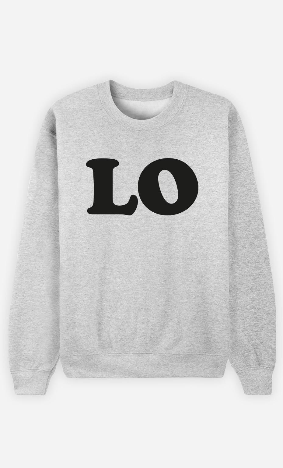 Sweatshirt Love Lo