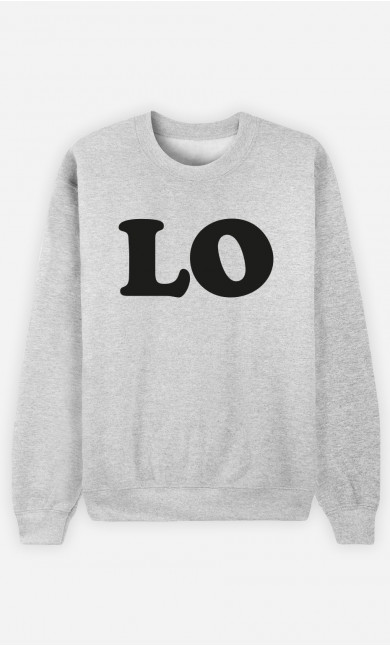 Sweatshirt Love Lo