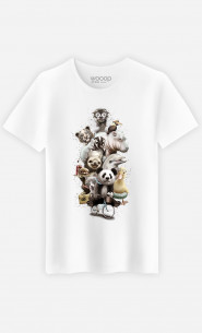 T-shirt Zoo escape