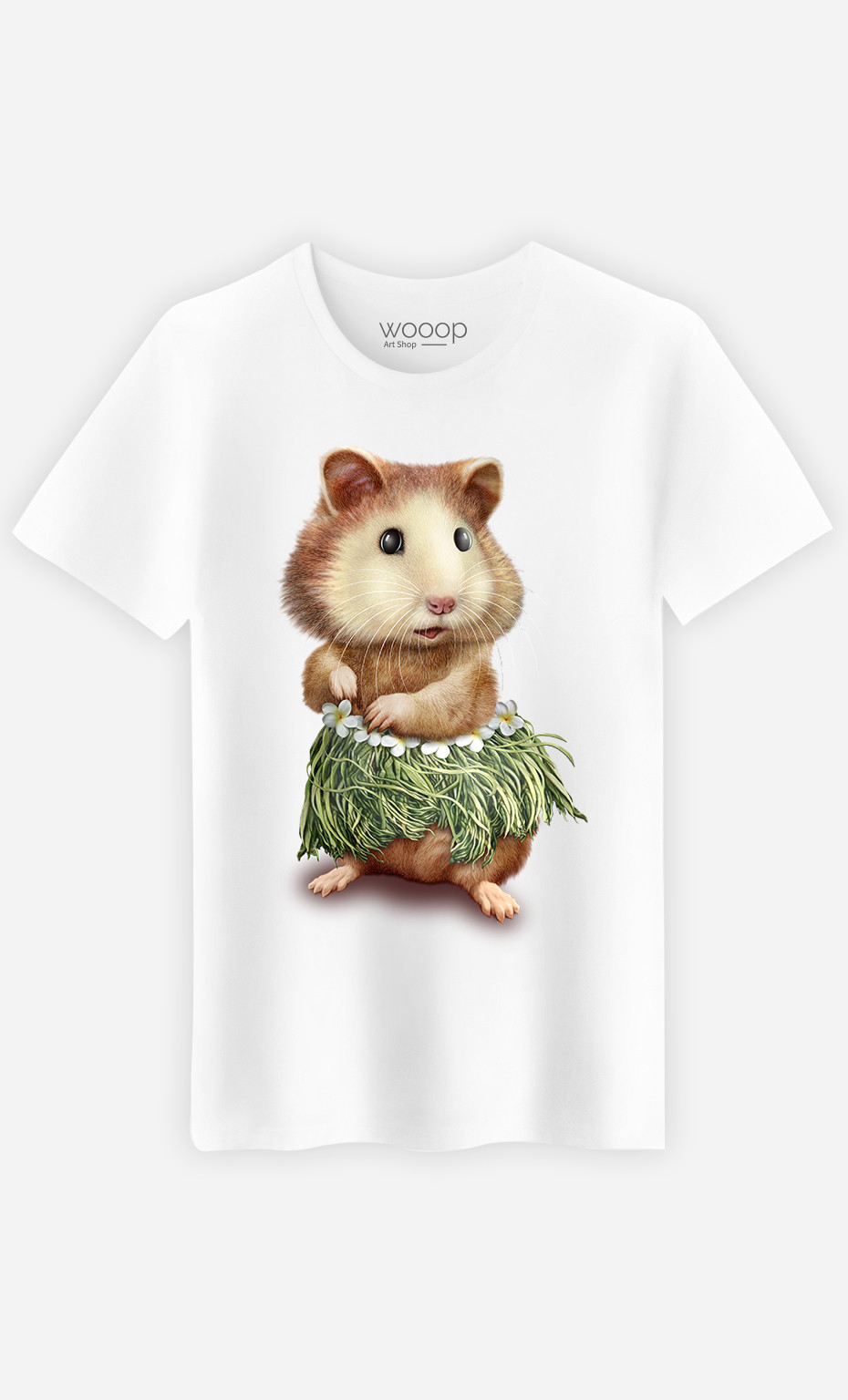 T-shirt Hamster hula