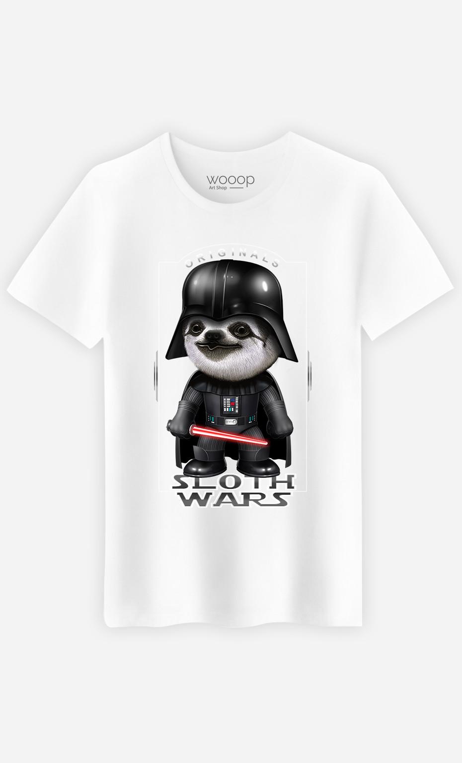 T-shirt Sloth Wars