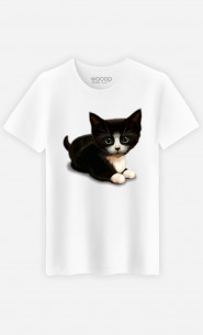 T-shirt Cute cat