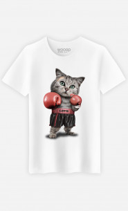T-shirt Boxing cat