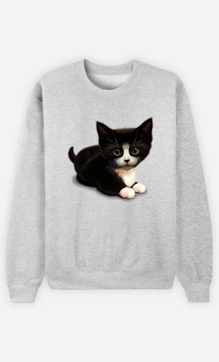 Sweatshirt Cute cat
