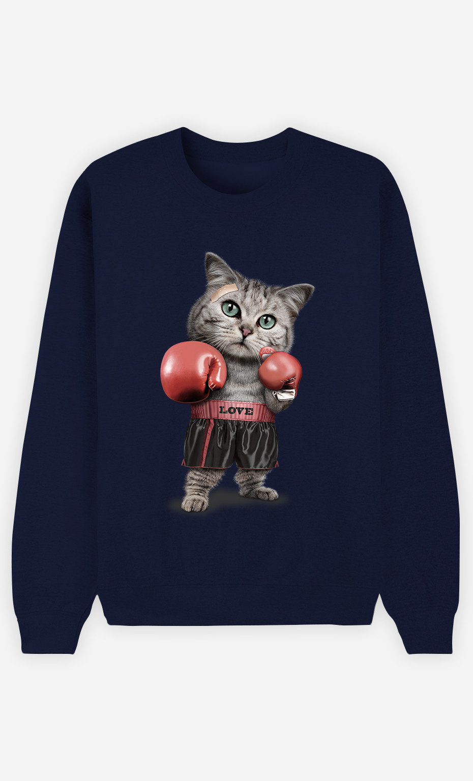 Sweatshirt Boxing cat