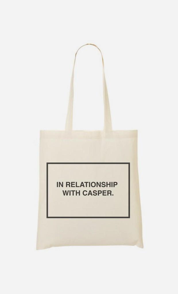 Tote Bag With Casper