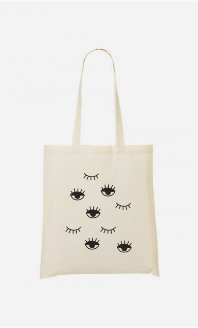 Tote Bag Eyes