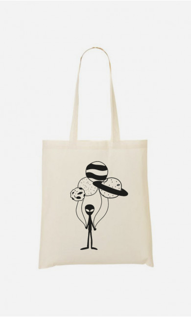 Tote Bag Constellation balloon