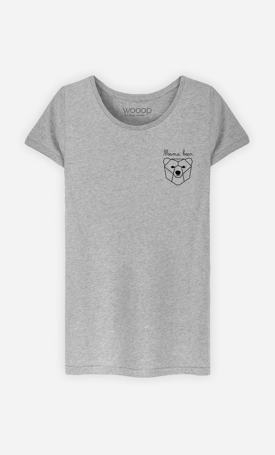 T-Shirt Mama Bear Origami
